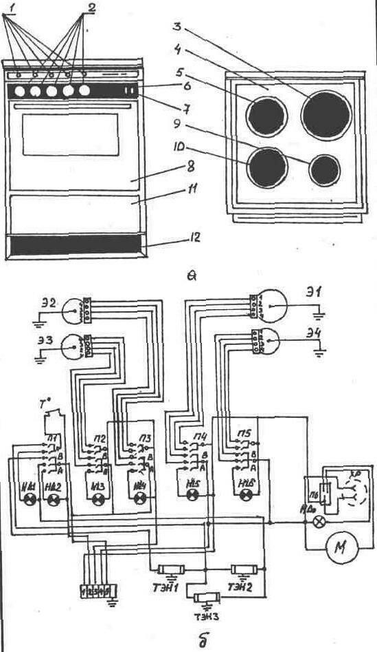 Ремонт электрогазовых плит своими руками 93